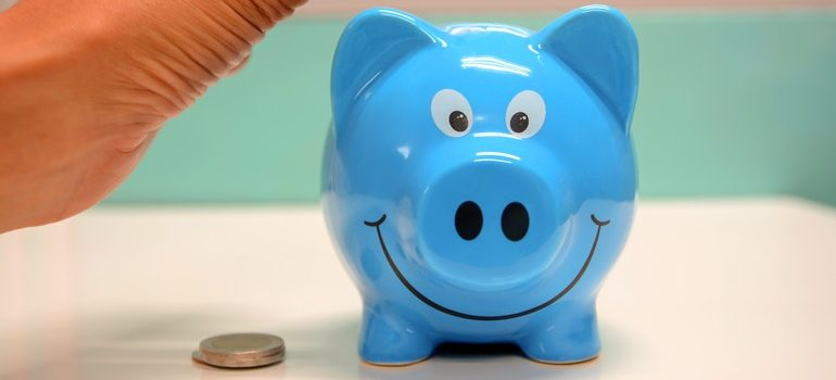 Piggybank you'll need when you prepare for moving overseas.