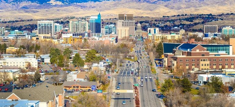 Boise ID panorama