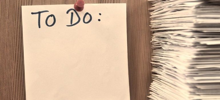 A to do list to make when moving to Salt Lake City from Boise.