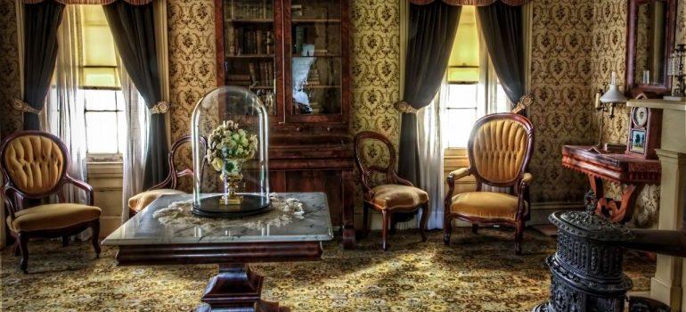 A rustic salon