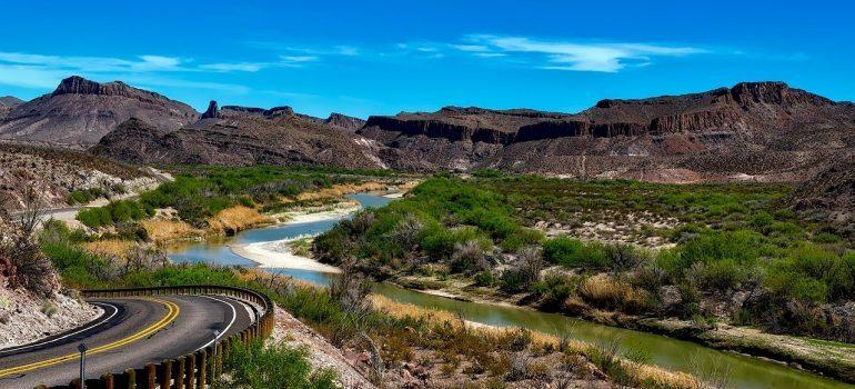 River Rio Grande in Texas