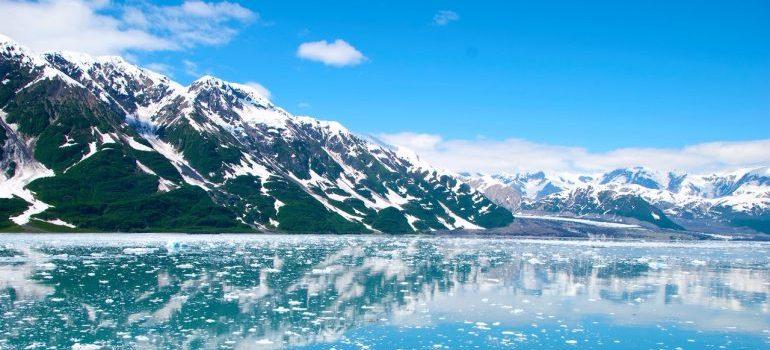 A landscapeof Alaska.